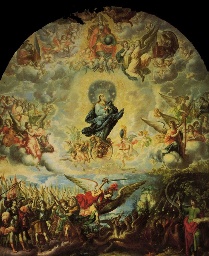 Mujer del Apocalipsis - Cristóbal de Villalpando