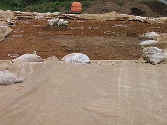 Mukibanda Yayoi remains - Image: Mukibanda remains excavation spot at Mukiniiyama area