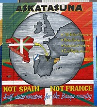 Says it all.  And the Basque have their own language too.  (As does Catalonia.)