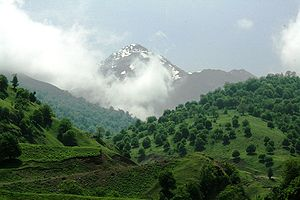Environment of Azerbaijan - Murov mountain in Azerbaijan.