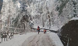 Murree - Murree in winter.