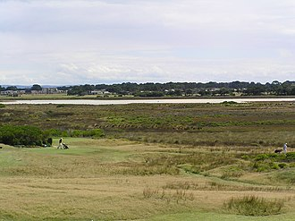 Murtnaghurt Lagoon - View from south-east