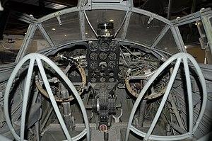 Museo dell'Aeronautica Gianni Caproni S.79 cockpit.JPG