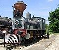Museu da Tecnologia - Locomotiva a vapor Dübs 2.JPG