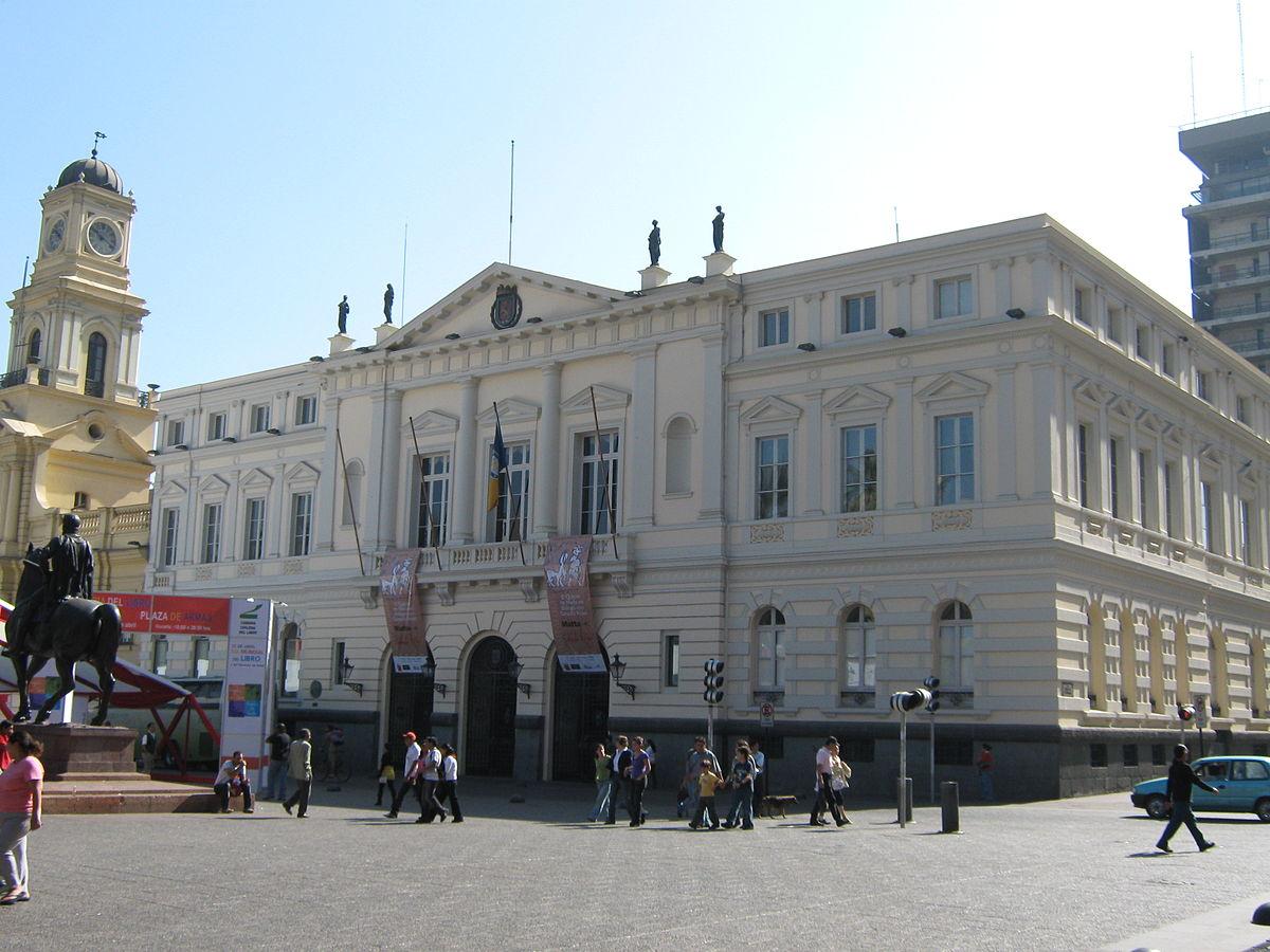 Edificio de la Municipalidad de Santiago - Wikipedia, la