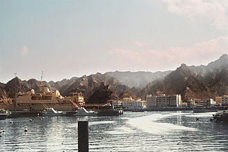 Gulf of Oman - Muttrah Port, Muscat, Sultanate of Oman