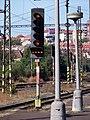 Nádraží Praha-Vršovice, 3. nástupiště, návěstidlo.jpg