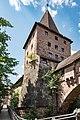 Nürnberg, Stadtbefestigung, Mauerturm Grünes F 20170616 001.jpg