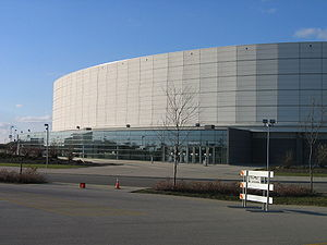 Convocation Center (Northern Illinois University) - Image: NIU Convo Center 2