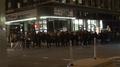 NYC Police surrounding protesters at 2015 Flatiron District protests.png