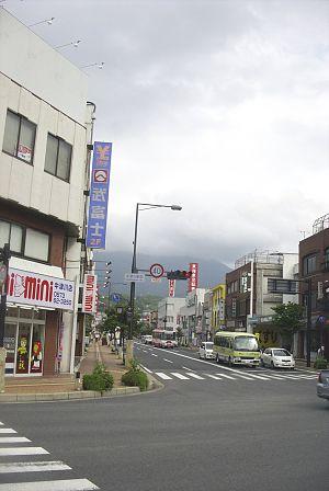 Nakatsugawa, Gifu - Downtown area of Nakatsugawa