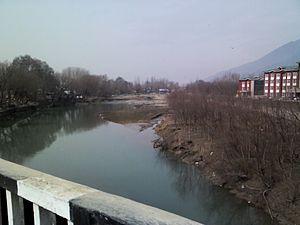 Sind River - Sind seen from Duderhama Bridge