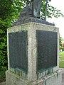 Namenstafeln am Denkmal auf dem Friedhof von Buggingen anlässlich des Grubenbrandes am 7. Mai 1934.jpg