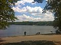 Narragansett Trail -Wyassup Lake boat launch and public access lot on Wyassup Lake Road.jpg