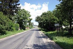 Bistrița-Năsăud County - Entrance from the west, in Năsăud