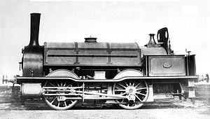 "1865 in South Africa - Natal Railway 0-4-0ST ""Durban"""