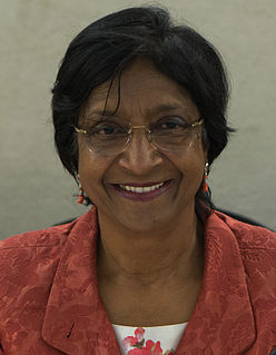 Navi Pillay Lawyer, judge and human rights activist