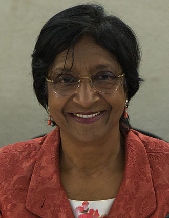 Navi Pillay - Pillay at the 26th session of the Human Rights Council