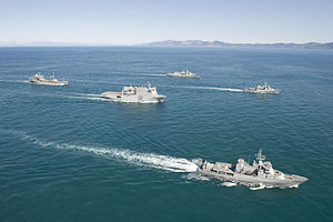 Navy fleet concentration in the Cook Strait - Flickr - NZ Defence Force (2).jpg