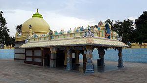 Nayakanahatti Thipperudra Swamy - The Horamatha, where Thipperudraswamy took up Jeeva Samadhi