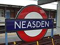 Neasden station roundel2.JPG