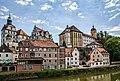 Neuburg an der Donau, Ansicht auf Schloss Neuburg.jpg