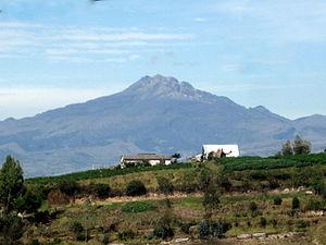 Chiles (volcano) - Image: Nevado Chiles 465