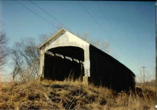 Nevins Covered Bridge place in Indiana listed on National Register of Historic Places