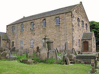 Glenmavis village in the United Kingdom