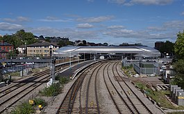Newport railway station MMB 50.jpg