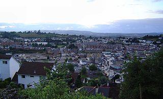 Newton Abbot market town and civil parish in Devon, England