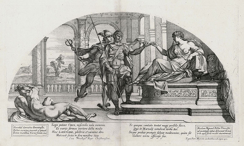 File:Nicolas Mignard, Ulysses and Circe after Annibale Carracci.jpg