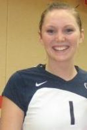Penn State Nittany Lions women's volleyball - Nicole Fawcett, the 2005 AVCA National Freshman of the Year