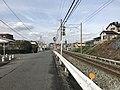 Nishitetsu Kaizuka Line on north side of Kashii-Kaenmae Station 4.jpg