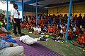 Nisith Ranjan Chowdhury Explains Salbhasana Benefits - Football Workshop - Nisana Foundation - Sagar Sangha Stadium - Baruipur - South 24 Parganas 2016-02-14 1397.JPG