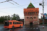 Nizhny Novgorod Kremlin. Dmitrovskaya tower..jpg