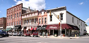 Noblesville, Indiana - Downtown Noblesville