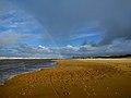 Noordwijk aan Zee - Strand met regenboog.jpg