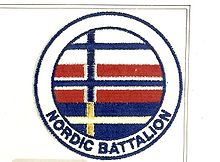 Nordic Battalion var en felles nordisk bataljon som deltok i United Nations Protection Force.