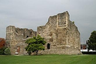 Canterbury Castle - Image: Norman Castle at Canterbury
