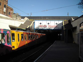 North Shields - North Shields Metro Station