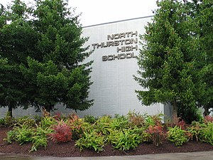 North Thurston High School - Image: North Thurston High School building