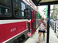 Northbound CLRV at King and Spadina, 2014 08 31 (15107596841).jpg