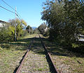 Northwestern Pacific Railroad tracks Fortuna East.jpg