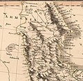 Northwestern part of Iran according to a 1808 map by Charles Smith.jpg