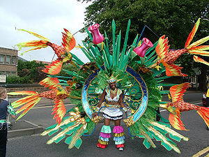Will Robson, Nottingham Carnival costume