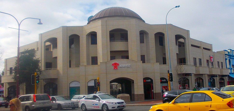 Nova 93.7 headquarters in Subiaco, Western Australia