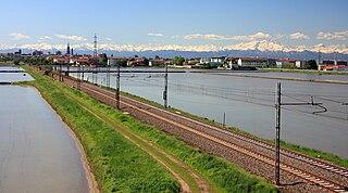 Turin–Milan railway Italian railway line