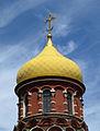Novo-Alekseyevsky convent, Cathedral dome.jpg