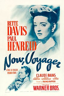 <i>Now, Voyager</i> 1942 American drama film directed by Irving Rapper